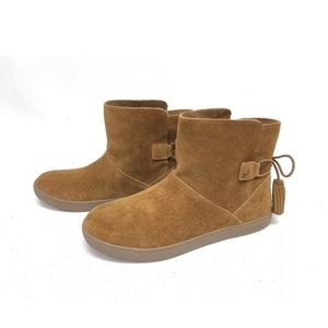 Uggs booties suede size 11 came color new